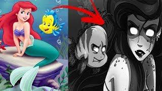 6 Disney Märchen, deren REALE Vorlagen extrem verstörend sind   MythenAkte