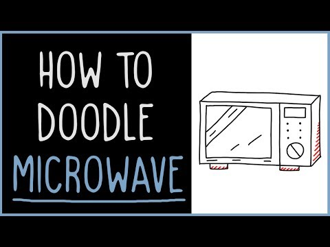 Learn How to Doodle a Microwave (drawing tips)