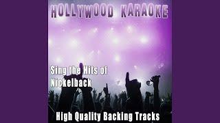 Hero (karaoke version) (originally performed by nickelback)