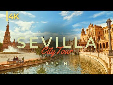 Sevilla 4K | Tour of Seville, Spain
