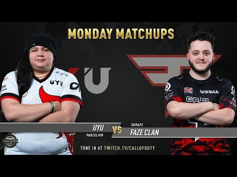 UYU vs FaZe Clan | CWL Pro League 2019 | Division A | Week 7 | Day 1