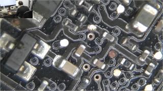 drag soldering to repair macbook pro lvds connector