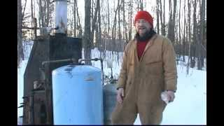 Stored Home Made Natural Wood Gas