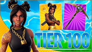 TIER 100 SKIN! | Dansk Fortnite