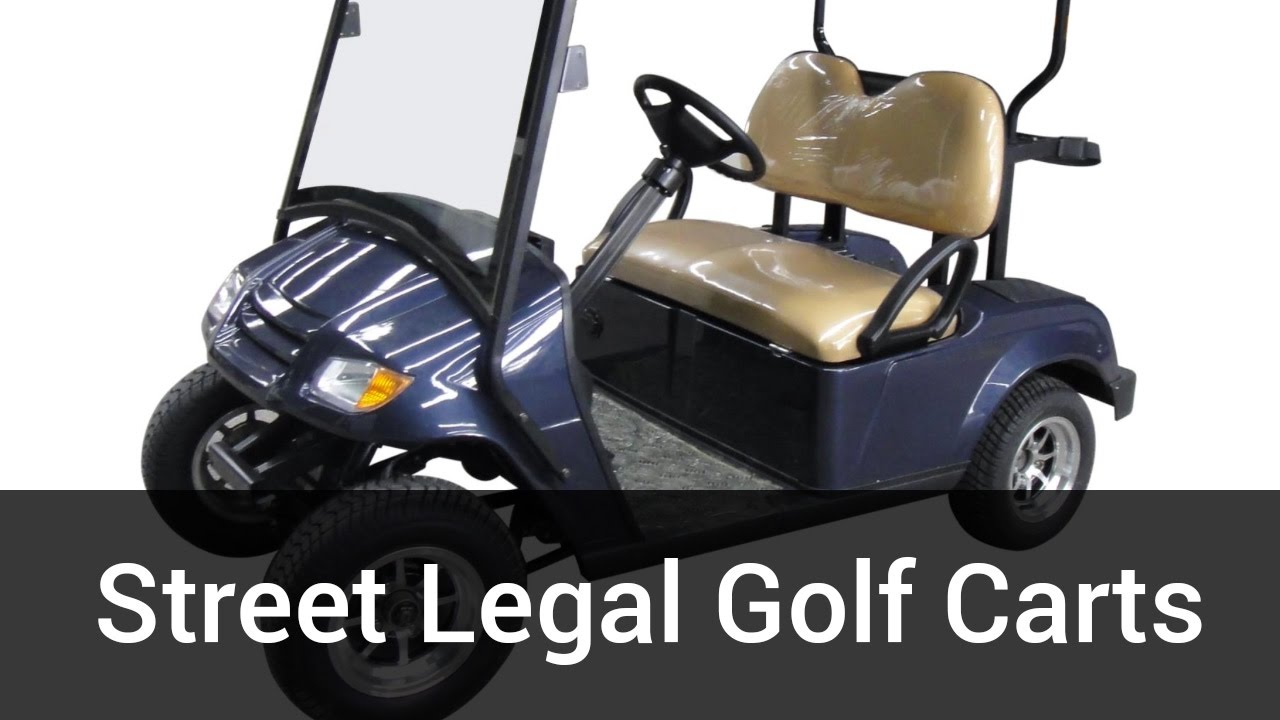 Street Legal Golf Carts For Bintelli Electric Vehicles