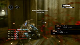 """Gears of War 3 """"Outplays w/Clutches"""" Ep : 27 (2016 Wallbounce Grind)"""