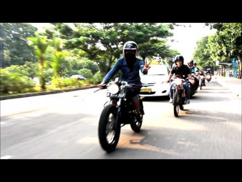Cafe Racer Indonesia 4th Gathering 1-2 March 2014