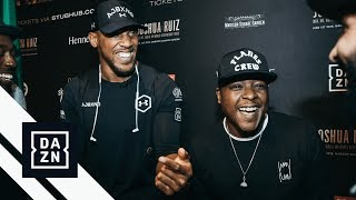 Jadakiss Picks Between Anthony Joshua & Deontay Wilder