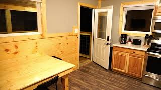 Rest easy in our 1-Bedroom Cabins (C02 Silver shown here)