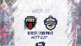 Ottawa Fury vs Charlotte Independence full match
