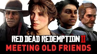 Red Dead Redemption 2 - What Happens to the Old Gang and Friends Video