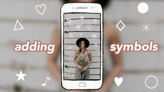 How to Add Symbols to Your Instagram Stories Without Leaving the App! ♡