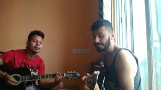 Nazm nazm sa mere on guitar ll by nitesh & mayank ll bareilly ki barfi