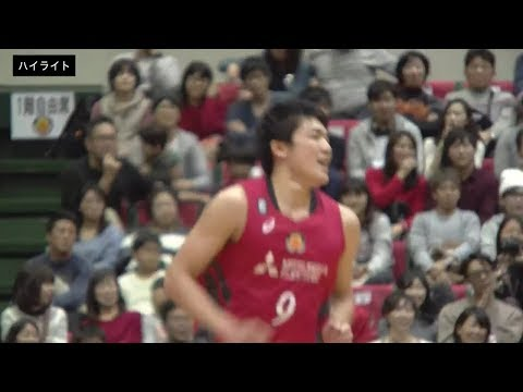 【B1ハイライト】12/09 名古屋D vs 千葉(18-19 B1第12節)