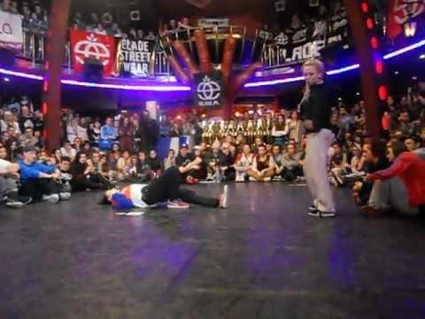 Aga (Co Jest) vs Paula (Enzym) - 1/2 Final Hip Hop -Rytm Ulicy 2012