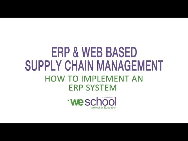 ERP Implementation Life Cycle - YouTube