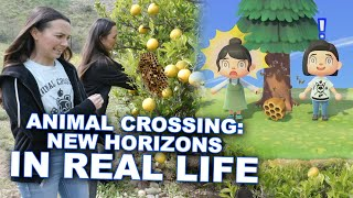 Animal Crossing New Horizons in REAL LIFE - Merrell Twins