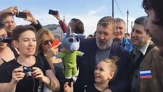 Акция #надоел. Москва. 29 апреля 2017г (2 часть)