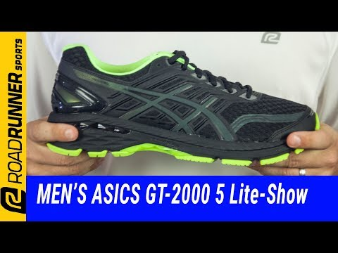 Men's ASICS GT-2000 5 Lite-Show | Fit Expert Review - YouTube