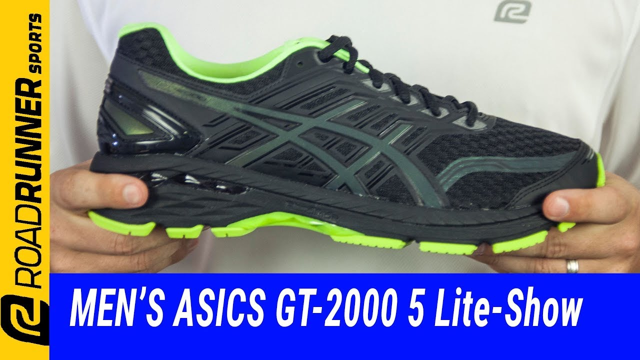 Men's ASICS GT-2000 5 Lite-Show | Fit Expert Review