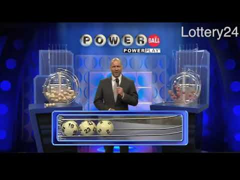 2017 07 12 Powerball Numbers and draw results
