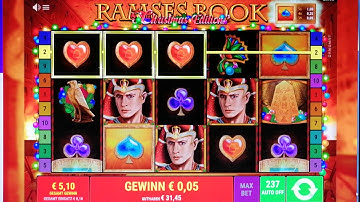 Online Casino Casumo - Ramses Book - Christmas Edition
