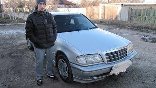 Обзор Тест-драйв Mersedes Benz C 180 W202 1.8i 120л.с 1999г С класс