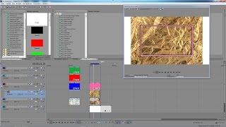 Sony Vegas Pro 13 - как сделать рамочку в фото и другие элементы