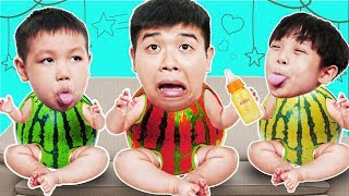 Phong, Su And Daddy Play Games Magic Surprise Eggs | 동요와 아이 노래 | 어린이 교육 | Phong Ly Studio