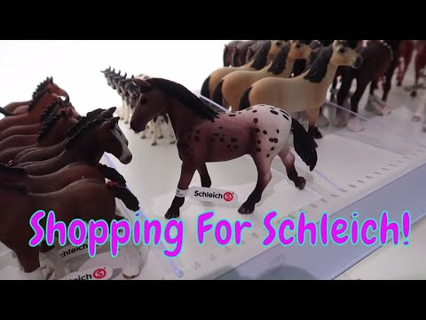 🐴Shopping For Schleich Horses At The Mall Of America!🐎 First Day TV