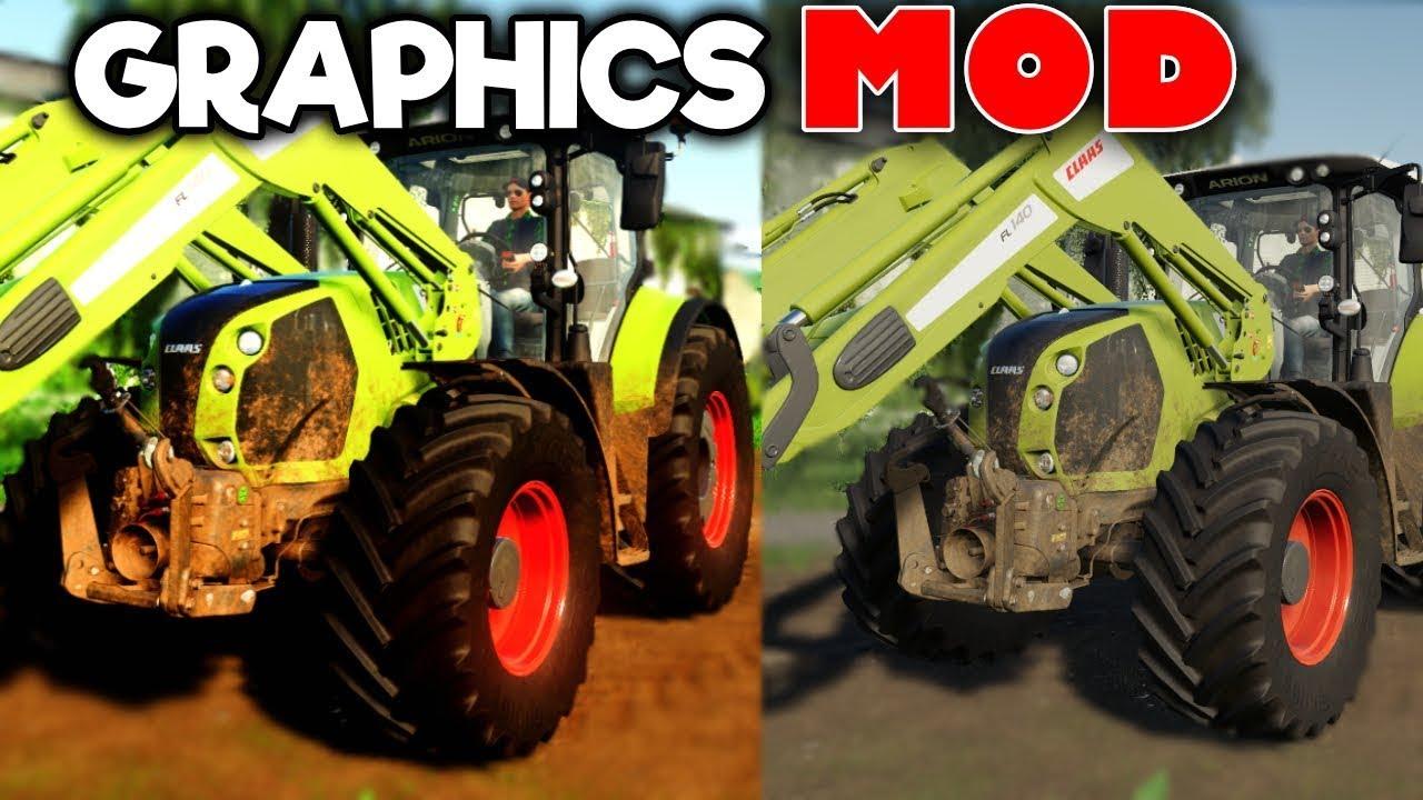 Download Farming Simulator 19 Latest Graphics Mod | Shaders | FS19