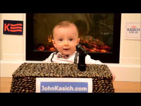 Baby For President Kasich 2016