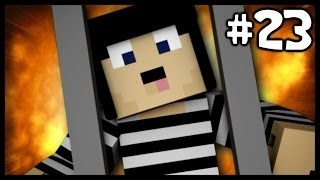 "Minecraft: ""LUCKY BLOCK!"" Modded Cops N Robbers! #23"