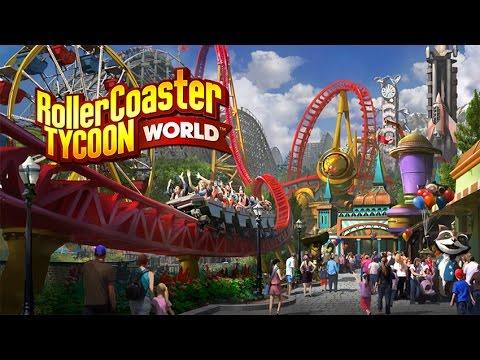 RollerCoaster Tycoon World Beta - Insane Roller Coaster - Fast Forward Build |