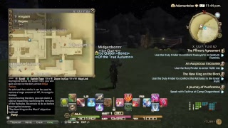 Searching for lost friends | Final Fantasy XIV : Stormblood