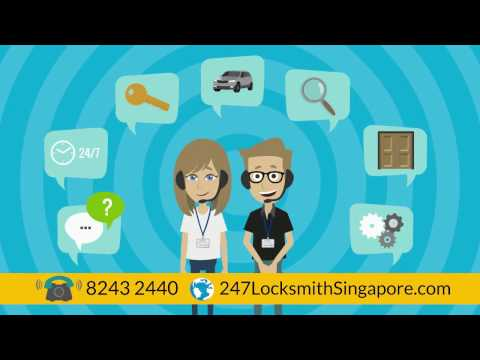 Locksmith Singapore - 24 Hour Services, Low Charges | 82432440