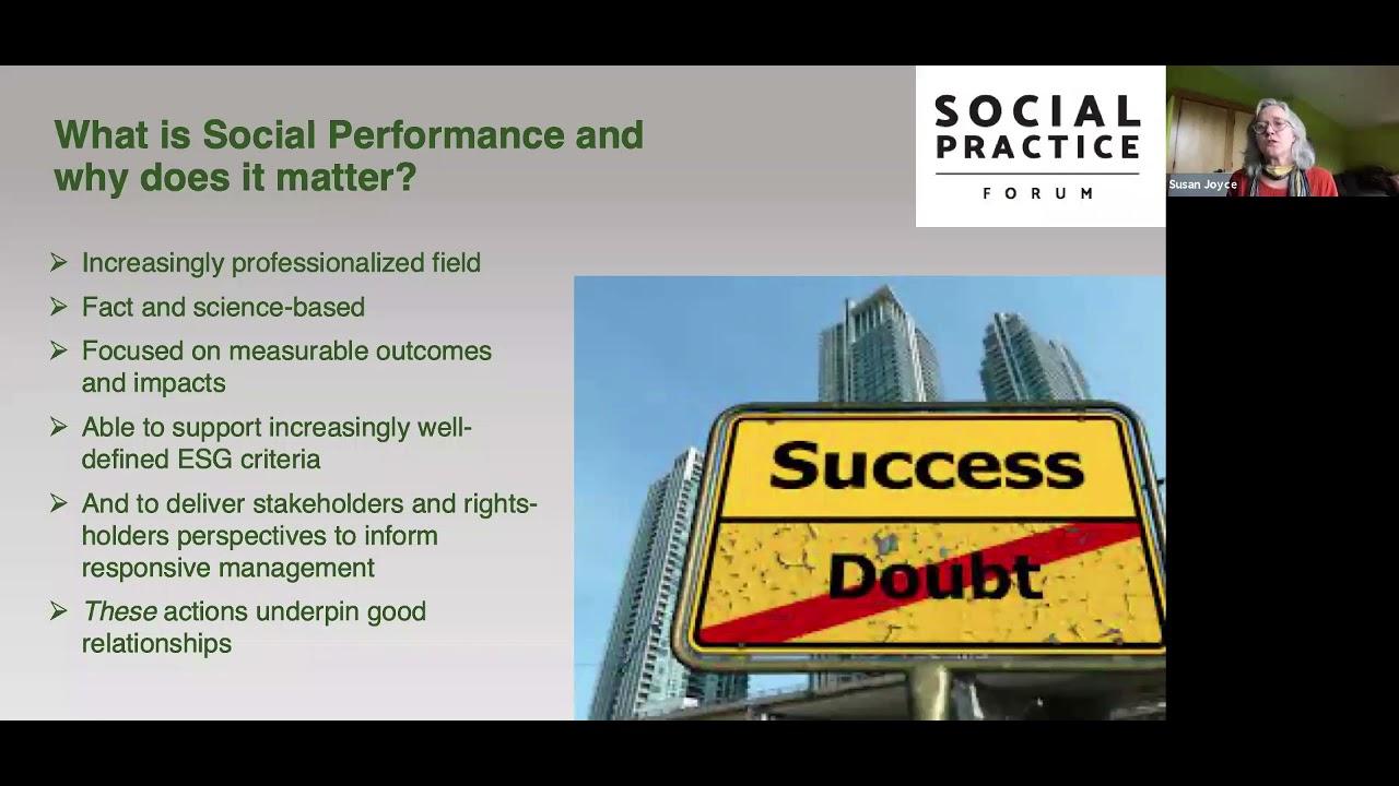 Susan Joyce - Understanding 'Social' in ESG