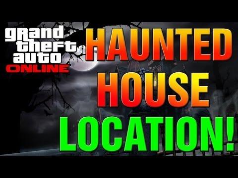 GTA 5 Online - How To Find Secret Haunted House Creepy Easter Egg Location! (GTA V Secrets)
