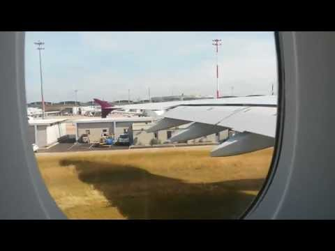 QATAR AIRWAYS | QR41 | ECONOMY | AIRBUS A380-800 | PARIS TO DOHA (CDG - DOH)
