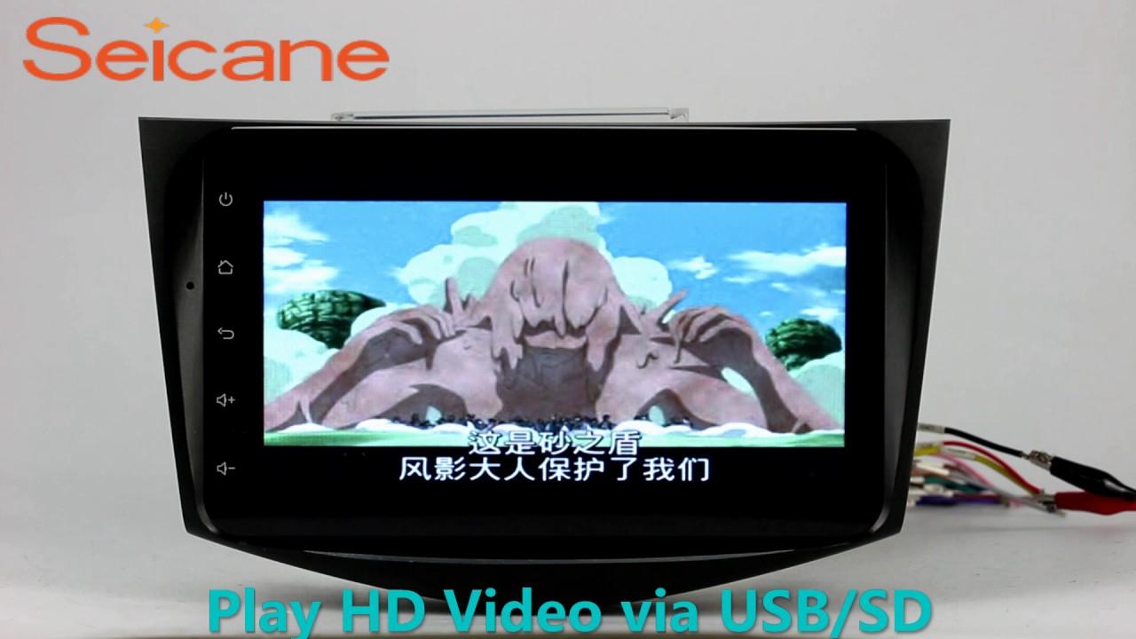 small resolution of upgrade 2006 2012 toyota rav4 aftermarket gps usb cd radio support backup camera mirror link
