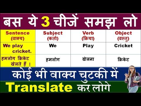हिंदी से इंग्लिश में Translate कैसे करें /How to Translate Hindi to English / By Preeti Mam