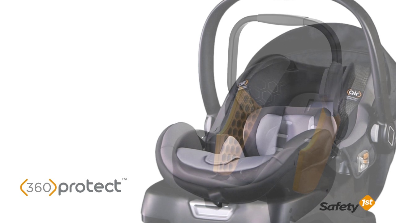onBoard™35 Air 360 Infant Car Seat - YouTube