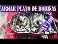 Suzuki AX 100 Armar Plato De Bobinas Y Volante Magnética | ToroMotos