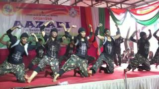 Independence day 2016   Dalmia college   Dance performance   Life of soldiers   Ronalds Planet D