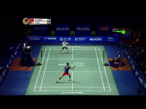 Thaihot China Open 2015 | Badminton F M4-MS | Chen long vs Lee Chong Wei