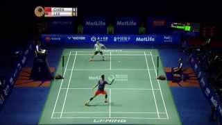 Thaihot China Open 2015   Badminton F M4-MS   Chen long vs Lee Chong Wei