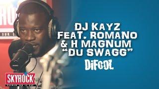 """Dj Kayz présente H Magnum et Romano """"Du Swagg"""" en live dans la Radio Libre"""