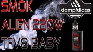 SMOK Alien 220Watt + SMOK TFV8 Baby Beast Deutsch