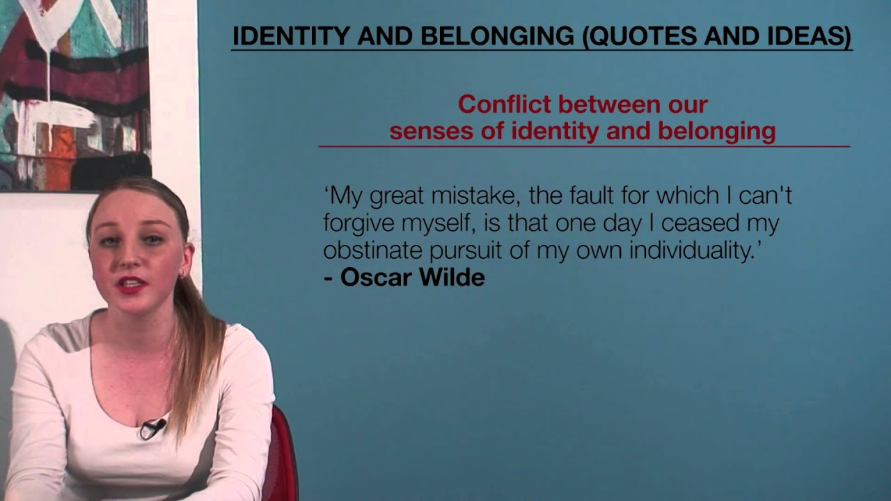 context of identity and belonging Unit 3 context sac feedback 7/14/2015  - tension between identity and belonging- we must challenge our identity/ identity is challenged when we seek belonging.