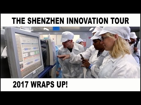 The Shenzhen Innovation Tour 2017 Wraps Up